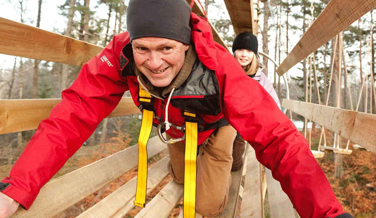 Treezone aerial adventure course
