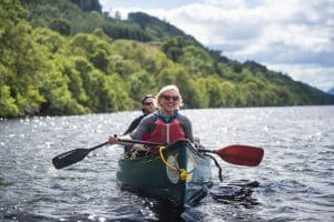 Canoeing the great glen canoe trail