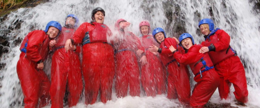 Gorge Scrambling - great group activity