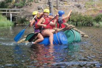 raft bulding for groups