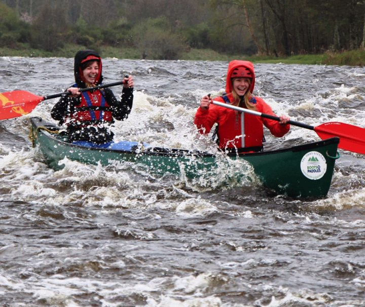 canoeing river spey whitewater