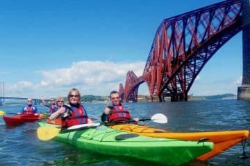 sea kayaking firth of forth