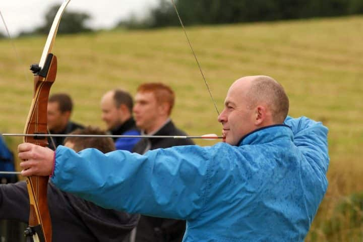 guided archery session scotland