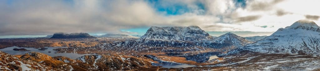 Awesome winter landscape. Photo by bealach verse on Unsplash