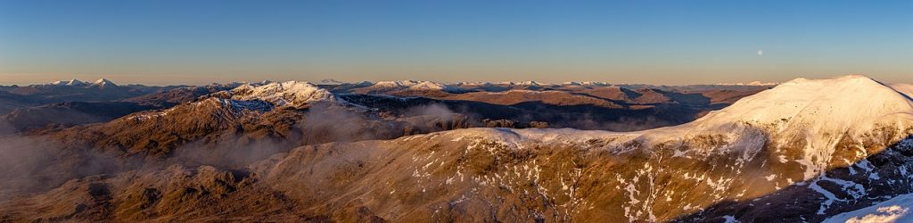 view north from ben lawers