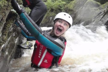 Natalie Miller, Gorge walking