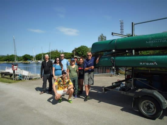 Great Glen Canoe Expedition Group