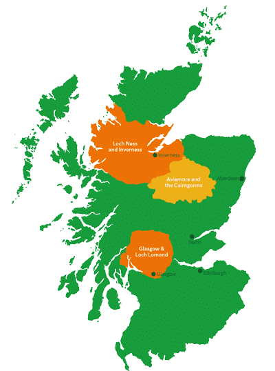 activities available across scotland