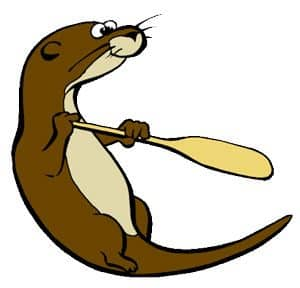 song of the paddle otter logo